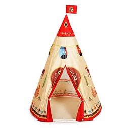 WPS Kids Play Tent Indian Story Tipi for Childrens Family an