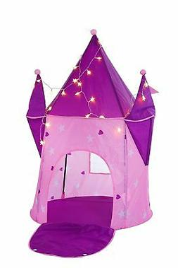 Kids Play Tent Princess Crystal Castle with LED LIGHTS, Play