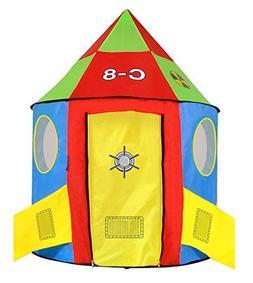 Kids Play Tent Rocket Spaceship Adventure Nexus C-8 Includin