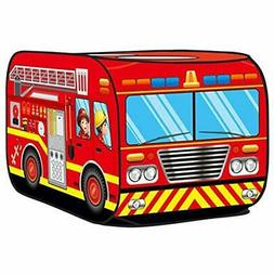 Play Tents & Tunnels Glisoo Fire Truck Pop Up For Kids  Toys