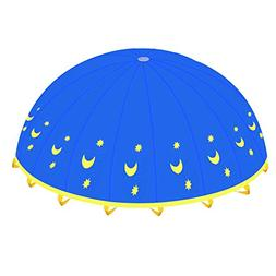 Play Tents-BELLESTYLE 6 Foot Kids Play Parachute with 8 Hand