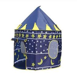 Playhouse Castle Play Tent Tunnel Outdoor Fairy House Playhu