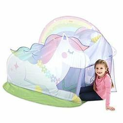 Basic Fun Playhut Unicorn Hut Pop-Up Play Tent for Indoor or