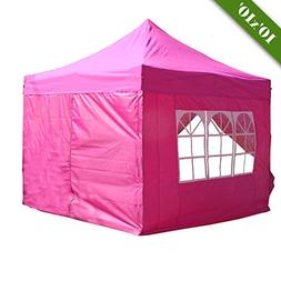 DELTA Canopies 10'x10' Pop up Outdoor Instant Folding Weddin