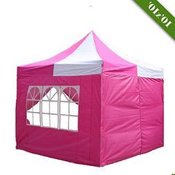 DELTA Canopies 10'x10' Pop up Canopy Wedding Party Tent Gaze