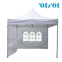 DELTA Canopies 10'x10' Ez Pop up Canopy Party Tent Instant G