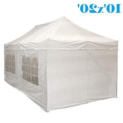 DELTA Canopies 10'x20' Ez Pop up Canopy Party Tent Instant G