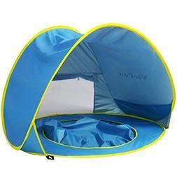 Pop Up Baby Beach Tent,VicPow Portable Infant Sun Shelter Pl
