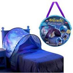 Kids Pop Up Bed Tent Playhouse Winter Wonderland- Twin Size
