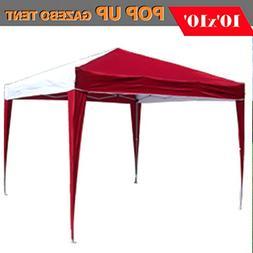 DELTA Canopies 10'x10' Pop up Canopy Party Tent Instant Gaze