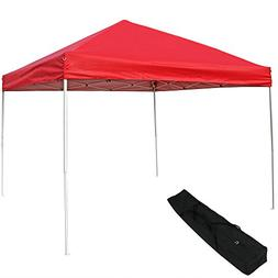 Sunnydaze Pop Up Canopy Tent 12 x 12 Foot with Outdoor Carry