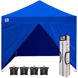 Eurmax 10x10 Pop up Canopy Tent Quick Gzaebo Shelter w/ Full