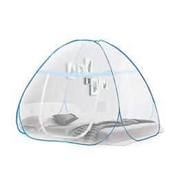 OTraki Pop up Mosquito Net for Bed Camping Baby Crib Anti Mo