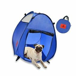MyDeal Pop Up Pet House in a Bag for Portable Play Pen or Ke