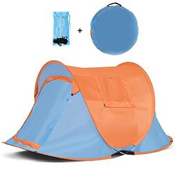 Pop up Tent, Anti UV Instant Portable Beach Tent Sun Shelter