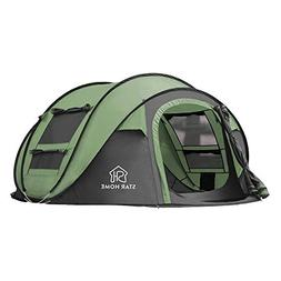 STAR HOME Pop up Tents 3 Person Instant Camping Tents