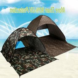 pop up beach tent sun shade shelter