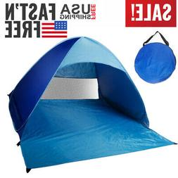 Pop Up Beach Tent Sun Shade Shelter Outdoor Camping Fishing