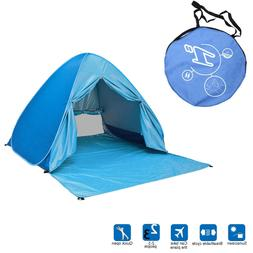 Pop Up Beach Tent, Sun Shelter Shade Easy Up Portable Anti U