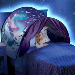 Pop Up Bed Tent Playhouse Twin Size Girls Adventure For Kids