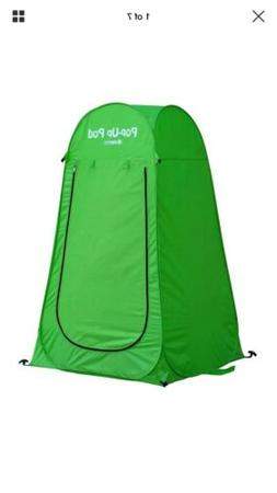 GigaTent Pop Up Pod Changing Room Green 1 Pack