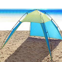 Pop Up Portable Beach Canopy UV Sun Shade Shelter Triangle O