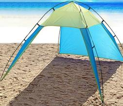 Pop Up Portable Beach Canopy UV Sun Shade Shelter Triangle O
