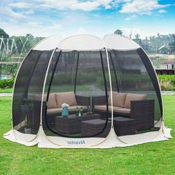 12'x12' Pop Up Screen House Outdoor Camping Tent Canopy Gaze