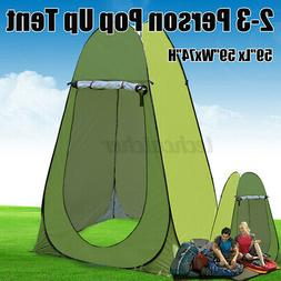 Pop Up Shower Tents Lightweight Camping Shelter Changing Clo