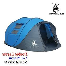 pop up tent 5 6 person outdoor