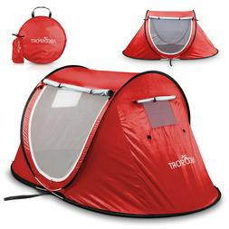 Abco Tech Pop-up Tent Instant Portable Cabana Beach Pop Up T