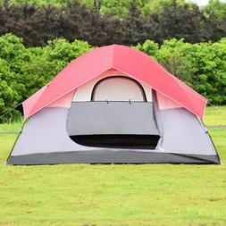 Portable 6 Person Automatic Pop Up Family Tent Easy Set-up C