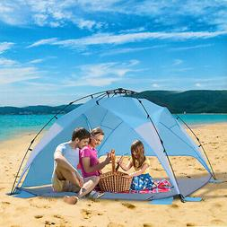 Portable Automatic Pop Up Kids Beach Tents Camping Outdoor U
