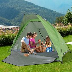 Outsunny 7.5' Pop Up Compact Foldable Sun Shade Beach Tent
