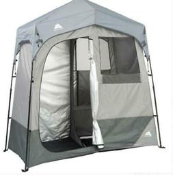Portable Camping Shower Tent 2 Room Bath Changing Utility