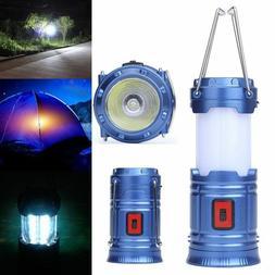 Portable COB LED Super Bright Camping Lantern Tent Outdoor H