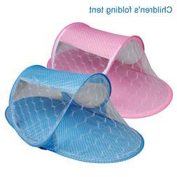 Portable Folding Baby Crib Travel Bed Beach Mesh Tent Mosqui