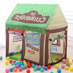 Kids Portable Folding Fantasy Cottage Playhouse Prince or Pr