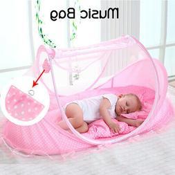 Portable Folding Infant Newborn Baby Travel Anti-Mosquito Cr