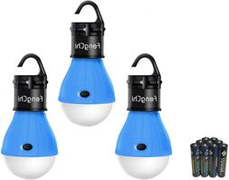 3x Portable Outdoor Hanging LED Lantern Camping Tent Night L