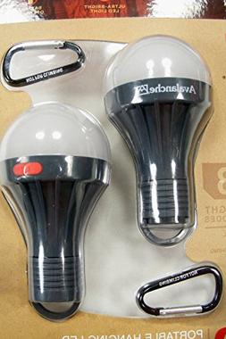 Avalanche Portable Hanging LED Tent Bulbs