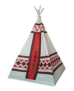 Dream House Portable Indoor Indian Playhouse Toy Teepee for