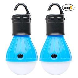 2 Pack Sanniu Portable LED Lantern Tent Light Bulb for Campi