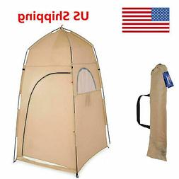 1-2 Person Portable Pop-Up Toilet Shower Tent Changing Room