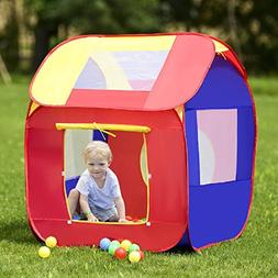 COSTWAY Portable Kid Baby Play House Toy Tent
