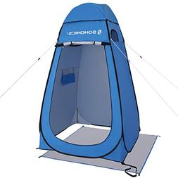 SONGMICS Portable Pop up Tent Dressing Room Privacy Shelter