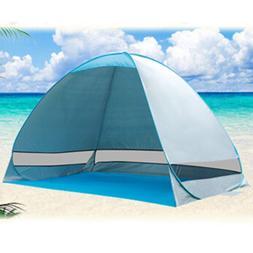 Portable Pop Up Beach Tent Canopy Sun Shade Shelter Outdoor