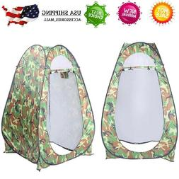 Portable Pop up Tent Camping Beach Toilet Shower Windproof C