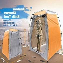 Portable Privacy Shower Toilet Camping Tent Changing Clothes