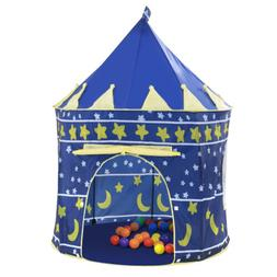 Prince Castle Boy Toddler Play House Crown Tent Outdoor Indo